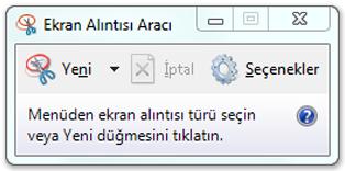 Windows İçin Ekran Görüntüsünü Alma