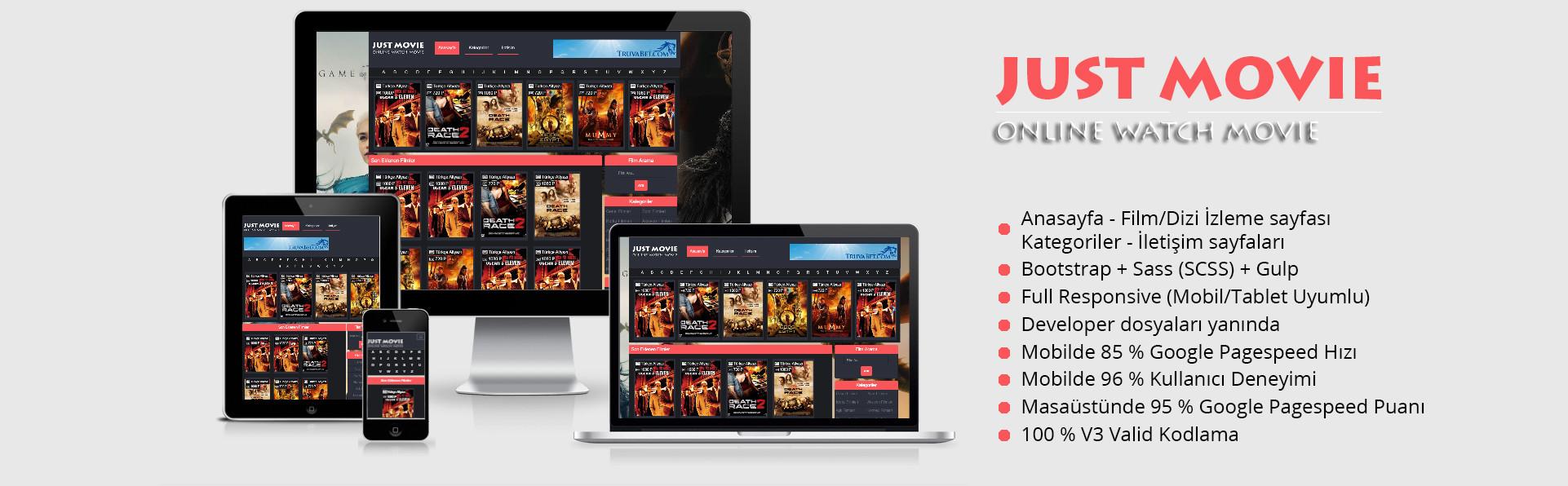film JustMovie Satış 1