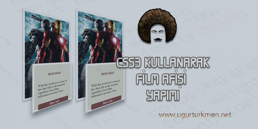 CSS3 Kullanarak Film Afişi Yapımı